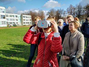 Leido keliauti laiku: KTU mokslininkai virtualioje realybėje pakvietė pasižvalgyti po išnykusį Kauno Aleksoto rajoną