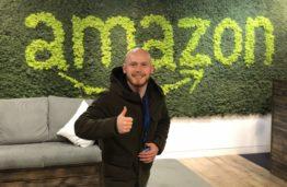"""Į """"Amazon"""" kelią prasiskynęs lietuvis: neverta manyti, kad čia dirba tik susireikšminusios žvaigždės"""