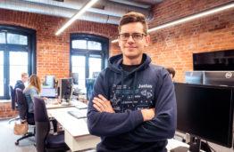 KTU alumnas Justas Eimutis: programavimas tai- malonumas