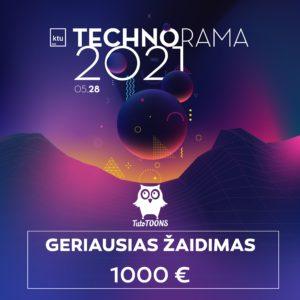 Technorama kviečia žaidimų kūrėjus laimėti įspūdingą TutoTOONS įsteigtą piniginį prizą