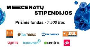 Mecenatų stipendijų konkurso IF studentams prizinis fondas – net 7,5 tūkst. eurų